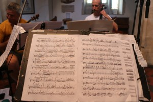 Day one of recording David Matthews' works based on Schumann, Scriabin and Beethoven-here's my stand with his masterful version of Beethoven Op 101. Morgan Goff and Neil Heyde as a picturesque backdrop...27
