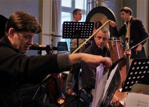 KelviHawthorne, Yves Savary, Stefan Blum, Pablo Quass. 26 4 16 Munich