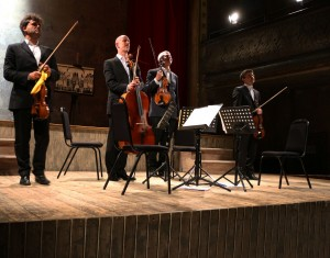 22nd April 2014. Back Home at Wiltons Music Hall. Beethoven Op 95, Cowie, David Matthews Beethoven Arrangements