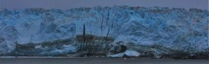 Where words fail; what we reach for. Hubbard Glacier August 2016