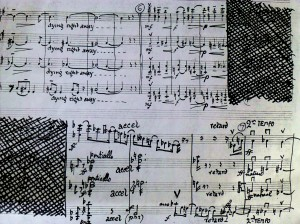 A Richer Dust. A glimpse of some of the music we will be playing as part of my two-concert counterpoint to the National Portrait Gallery's 'A Richer Dust'. Here, the wonderful working manuscript of John Foulds's 'Waters of Babylon' (1914). Haven't played this piece for many years-I just love that the scratching out happens just before he uses 1/4 tones for the first time!LINK
