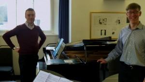 Jeremy Thurlow with Roderick Chadwick. 28 0 314