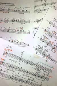 Tomorrow, back to the inspiring composers at Musikhögskolan i Malmö. At lunchtime, I give an odd little concert/talk of Ole Bull, Henze, Abrahamsen and Slade Fiddler Slone. Then the fun starts-working with the materials which the composers have been sending me-the workshop door jammed wide open, as it should be.