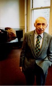 Louis Krasner. Boston 1989. Photo: PSS