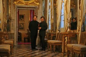 With Pianist Aaron Shorr in Genoa 2007