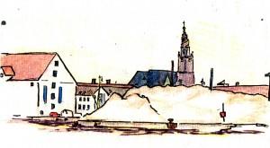 Coffe on Langelinie, Copenhagen. 28-4-2005