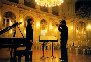 PSS and Jan Philip Schulze in the Golden Hall, Maribor, Slovenia.