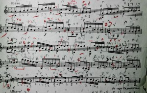 A much loved score-the Siciliana from the 11th VIolin Fantasie