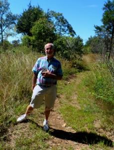 Michael Alec Rose-the composer ambling. Couchville Cedar Glades, TN 15th September 2013