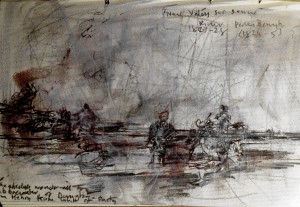 Awe-struck, as ever, by Richard Parkes Bonington. Turner and the Sea. Maritime Museum, Greenwich 8  1 14