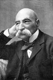 Elgar's violin teacher at the London Academy of Music. the extraordinary Adolphe Pollitzer