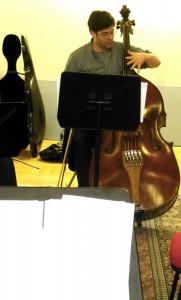 Carter discusses harmonics. Final Workshop 7 3 14