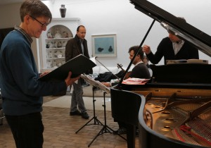 With composers Jeremy Thurlow, Richard Causton, and p27 4 14ianist Roderick Chadwick
