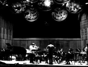 Rehearsing Elliott Schwartz's wonderful Concerto this evening at Turner Hall, Nashville, with amongst others, Audrey Lee?, Matt Lammers?, Caity Quinlan?. 16 4 4 14Thanks to Michael Alec Rose? for the photo.