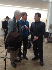 with composers Robin Holloway, Jeremy Thurlow Kettles Yard 27 4 14