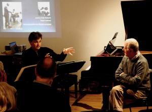 In conversation with Jeremy Dale Roberts. June 2014