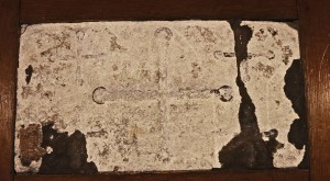 6th Century altar stone, St Pancras Church
