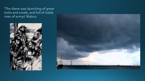 Responding to Nevinson, and stormy sky at Rostok, August 2014