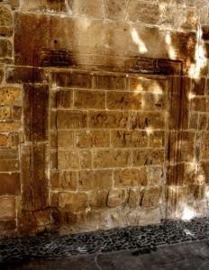 reused Roman doorway