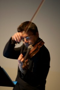 MIhailo Trandafilovski plays Simon Sofelde 'Joker Music' Photo Neil Heyde