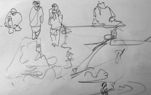 Walking, rocks. 30 12 14