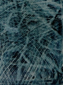 Back to London. Throwaway etude, blue graphite, Covent Garden, I pm 3 - 1 15
