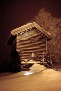 Night at Lysebu. 24 1 15