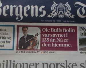 Bergens Tidende 31 5 15