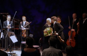 Celebrating Gloria Coates?. The end of an extraordinary concert, and an amazing week. Also onstage, Roderick Chadwick?. Mihailo Trandafilovski?, composer Elena Tarabanova,Neil Heyde, Morgan Goff?. A huge thankyou toe Musica Femina München, for their vision and work, putting this day on. . https://www.sheppardskaerved.com/2015/06/gloria-coates-piano-quintet-premiere-eine-amerikanerin-in-munchen/