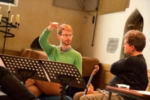With Neil Tomas Smith (Photo-Chris Leedham)