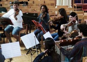 Peter Sheppard Skaerved, with Preetha Narayanan, MIdori Komachi, Salome Rateau, Diana Mathews, Uilleac Whelan. Recording David Gorton Lachrymae Variations 25 6 15