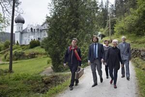 With Sigurd Sandmo, Berit Hogheim, Olea Smith Kaland, Schak Bull, 29 5 15