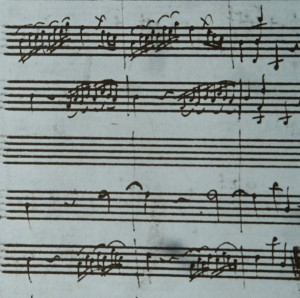 Lowest line is Oboe 2.