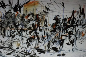 A day with Daniel Maclise and Robert Motherwell 7 9 15
