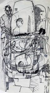 Music (Rawsthorne) in Barbara's Garden Summer 2003