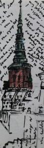 NikolajKirk Tower. My favourite. Anywhere July 2001