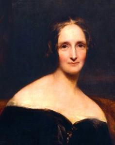 Mary Shelley's portrait by Richard Rothwell (1840)