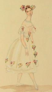 Taglioni, by the 14 year old Princess Victoria