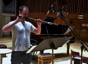 Chris Orton playing the end of Simaku's 'Soliloquy' and evokes the 'aulos' 22 3 16