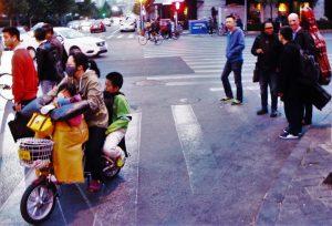 Kreutzer Quartet in China! On the street in Tianjin. October 2016