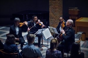 Playing Bach. Cambridge 3 11 16 Photo Claire Borley
